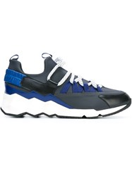 Pierre Hardy 'Trek Comet' Sneakers Blue