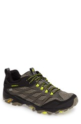 Merrell Men's Moab Fst Waterproof Hiking Shoe Olive Black