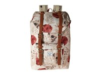 Herschel Little America Mid Volume Pelican Floria Tan Synthetic Leather Backpack Bags