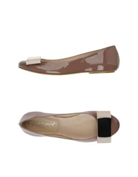 Carlo Pazolini Couture Ballet Flats Light Brown