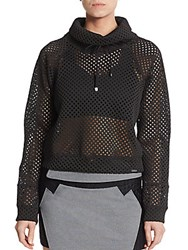 Koral Siphon Mesh Top Black