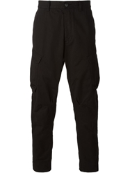 Stone Island Shadow Project Cargo Trousers Black