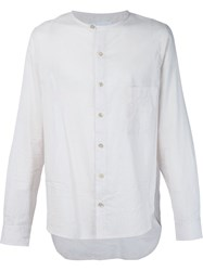 By Walid Round Neck Shirt White