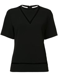 Alexander Wang Fishing Line Boxy T Shirt Black
