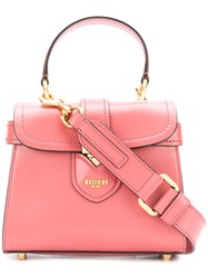 Moschino Satchel Bag Pink And Purple
