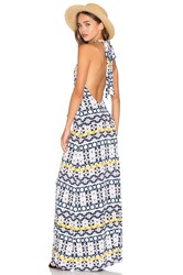 Rachel Pally Fausto Maxi Dress Navy