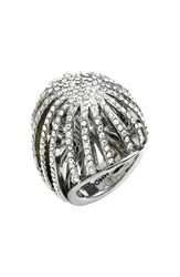 Women's St. John Collection Swarovski Crystal Cocktail Ring