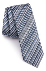 Paul Smith Men's Stripe Silk Tie