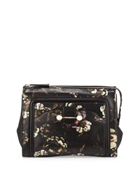 Jason Wu Daphne Floral Print Clutch Bag Multi