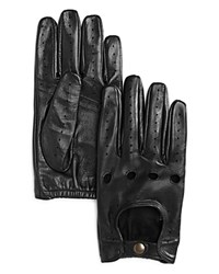 Bloomingdale's The Men's Store At Tech Perforated Driving Gloves Black