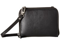 Scully Addison Stadium Crossbody Black Cross Body Handbags