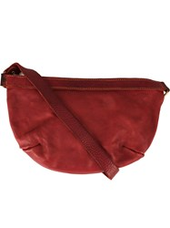 Guidi Versatile Shape Crossbody Bag Red