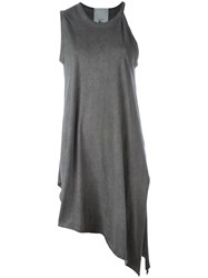 Lost And Found Rooms Asymmetric Tunic Grey