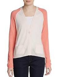 Christopher Fischer Colorblock Cashmere Cardigan Sugar Candy