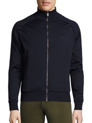 Ralph Lauren Full Zip Mockneck Sweater Navy