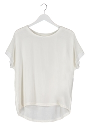 Noa Noa Basic Tshirt Chalk White