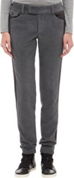 Kolor Melton Tuxedo Trousers Grey
