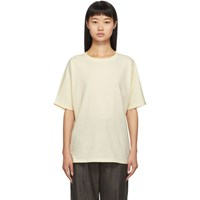 Lauren Manoogian Ssense Exclusive Off White Cashmere Dolman T Shirt