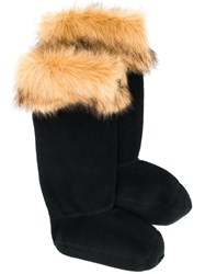 Hunter Faux Fur Trimmed Welly Socks 60