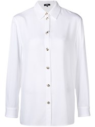 Versus Long Sleeve Fitted Shirt White
