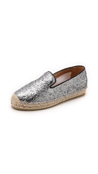 Marc By Marc Jacobs Space Glitter Espadrilles Black Silver