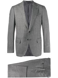 Caruso Two Piece Formal Suit Grey