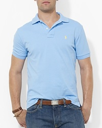 Polo Ralph Lauren Custom Short Sleeved Cotton Mesh Polo Slim Fit