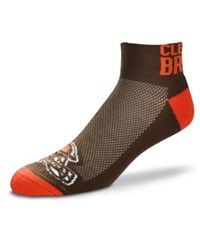 For Bare Feet Cleveland Browns The Cuff Ankle Socks
