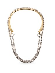 Charlotte Chesnais Briska Silver And Gold Plated Necklace