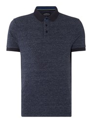 Criminal Men's Jax Jersey Polo Denim Marl