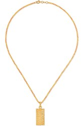 Carolina Bucci Golden Rule 18 Karat Yellow And Rose Gold Necklace One Size
