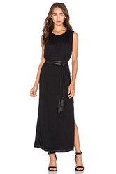Rag And Bone Double Layer Dress Black