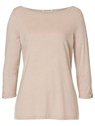 Betty Barclay Slash Neck T Shirt Pearl Cream