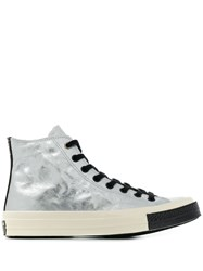 Converse Chuck 70 Flight School Hi Top Sneakers Grey