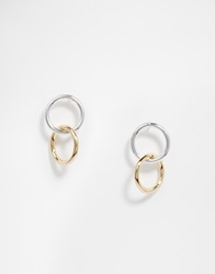 Weekday Alo Earrings Silverandgold