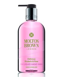 Delicious Rhubarb And Rose Hand Wash 300 Ml 10 Fl. Oz. Molton Brown