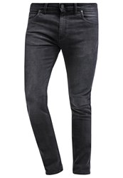 Farah Slim Fit Jeans Charcoal Black Denim