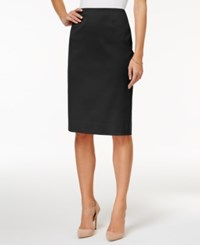 Charter Club Pencil Skirt Only At Macy's Deep Black