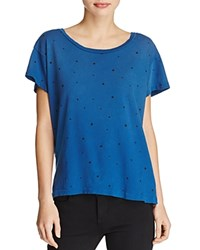 Current Elliott Star Print Tee Blue