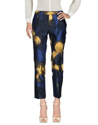 6267 Trousers Casual Trousers Dark Blue