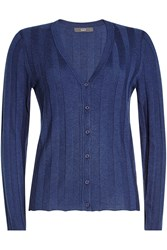 Steffen Schraut Ribbed Cardigan With Cashmere