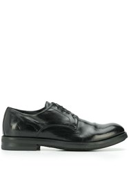 Officine Creative Academia Lace Up Shoes Black