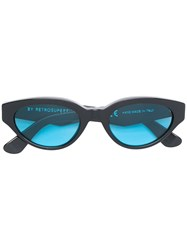 Retrosuperfuture Drew Sunglasses Black