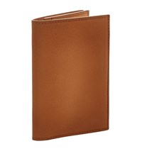 Ralph Lauren Grain Leather Bifold Wallet Unisex Brown
