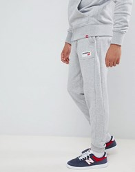 New Balance Small Logo Joggers In Grey Mp83515_Ag