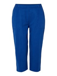 Tigi Summer Cropped Trousers Blue
