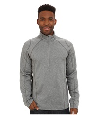 Obermeyer Marathon 150 Dri Core Top Heather Grey Men's Sweatshirt Gray