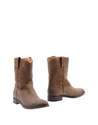 Ralph Lauren Collection Ankle Boots Brown