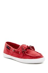 Sperry Sayel Away Washed Boat Shoe Red