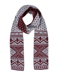 8 Accessories Oblong Scarves Maroon